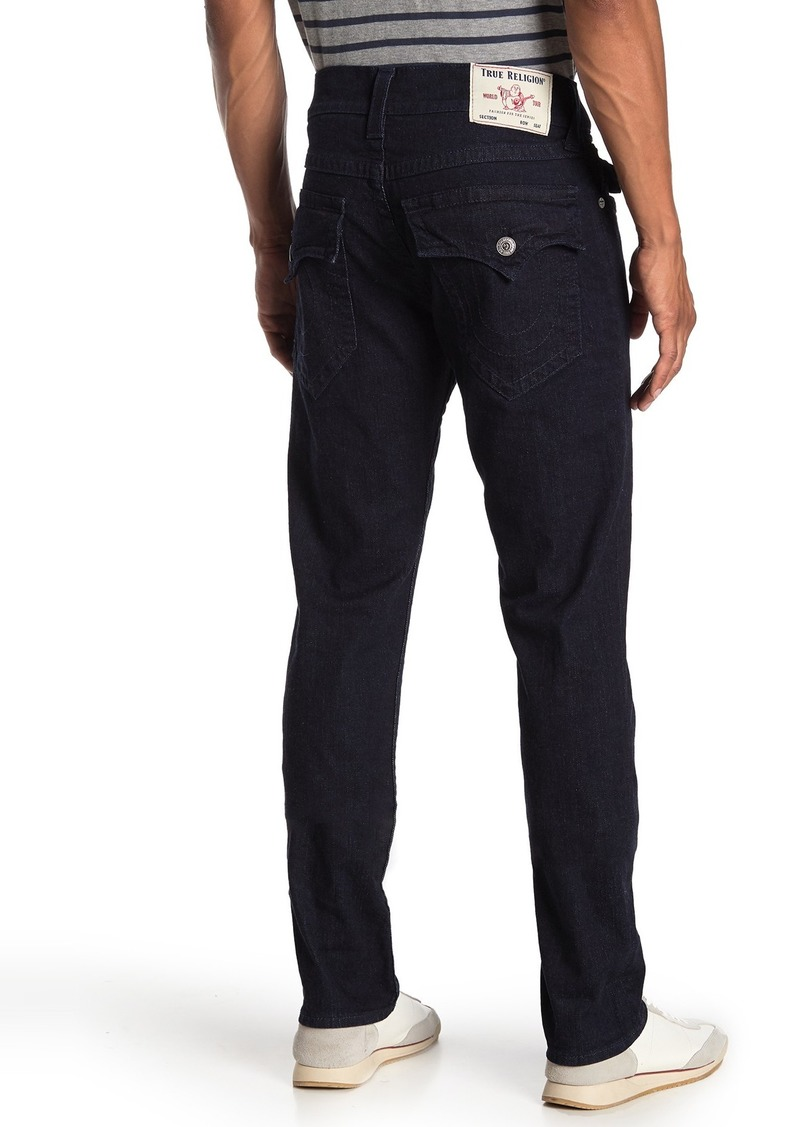 True Religion Rocco Flap Relaxed Straight Leg Jeans
