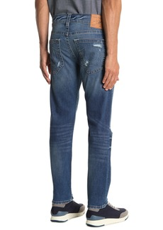 True Religion Rocco Relaxed Distressed Skinny Jeans