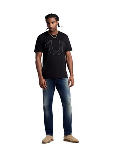 True Religion MENS ROCCO SKINNY JEAN W/ FLAP