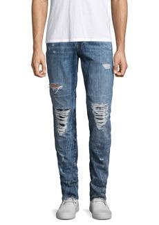 True Religion Rocco Slim-Fit Distressed Jeans