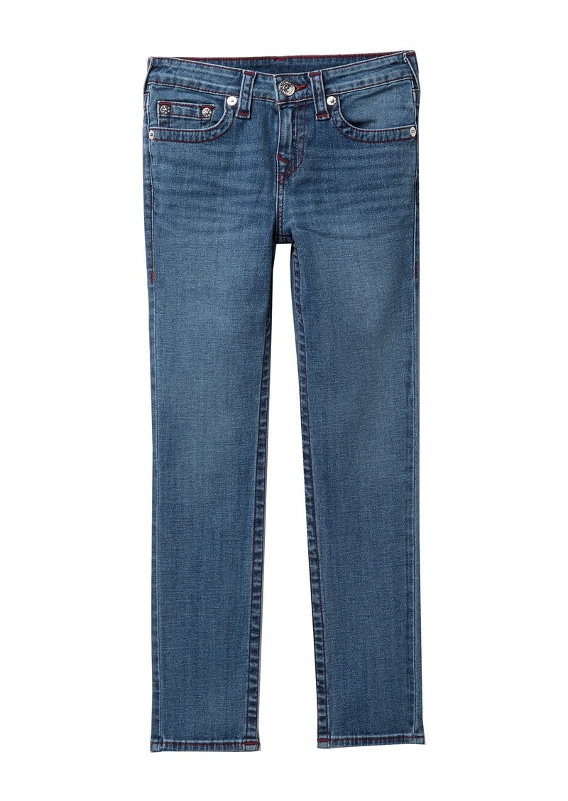 True Religion Rocco Straight Leg Jeans (Big Boys)