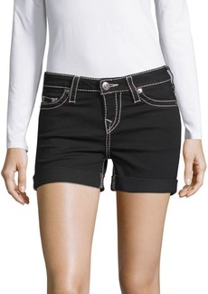 True Religion Rolled Cuff Shorts