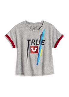 True Religion ROLLED SLEEVE TRUE TEE