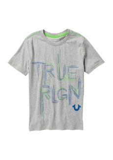True Religion Scratch Logo T-Shirt (Big Boys)
