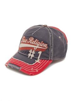 True Religion 'Script' Baseball Cap