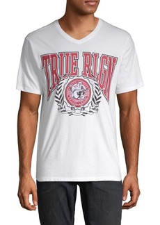True Religion Short-Sleeve Graphic Cotton Tee