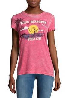 True Religion Singing Buddha Tee