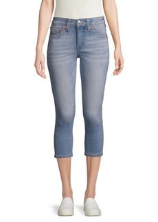 True Religion Skinny-Fit Cropped Jeans