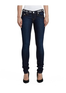 True Religion SKINNY FIT LOGO WAIST JEAN