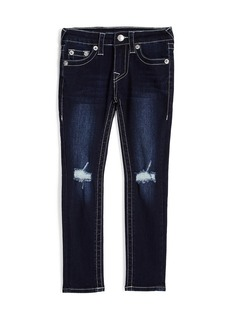 True Religion SKINNY FIT RIPPED JEAN