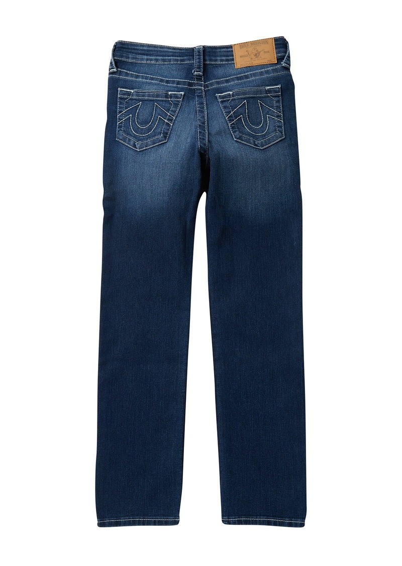True Religion Slim Straight Jeans (Big Boys)