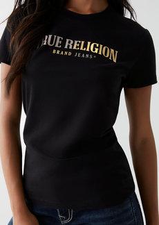 True Religion SPLIT LOGO TEE