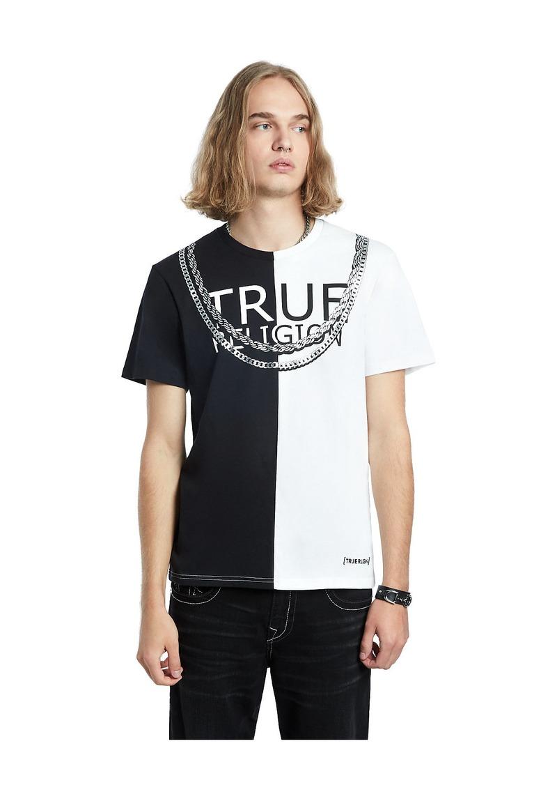 True Religion SPLIT TEE