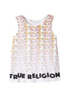 True Religion Sponge Flower Tank Top (Big Kids)