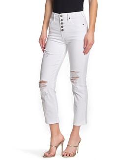 True Religion Star Button Skinny Jeans