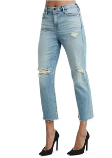True Religion STARR HIGH RISE CROP STRAIGHT WOME