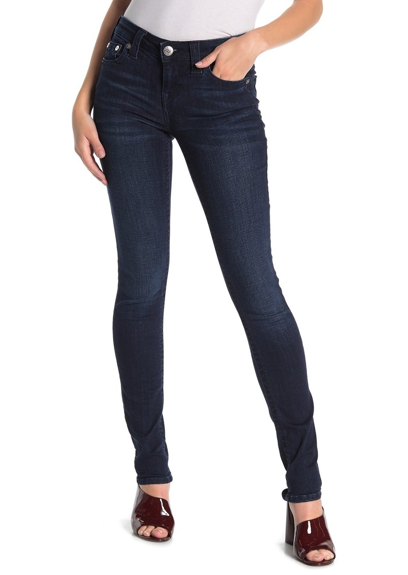 True Religion Stella Flap Skinny Jeans