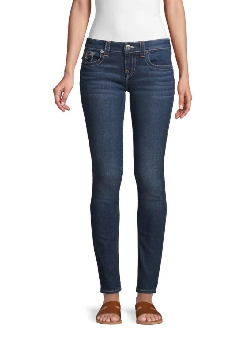 True Religion Stella Low-Rise Skinny Jeans
