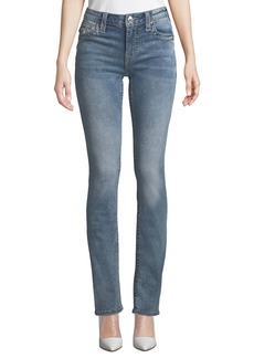 True Religion Straight-Leg Big T Jeans