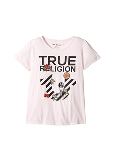 True Religion Stripe Horseshoe Tee Shirt (Big Kids)
