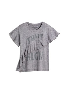 True Religion STUD AND RUFFLE TEE