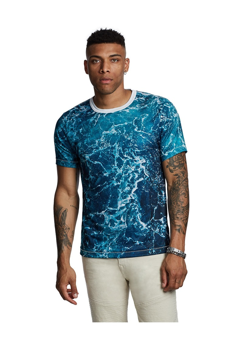True Religion SUBLIMATED WAVES TEE