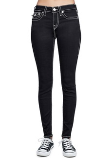 True Religion Super-Skinny Contrast-Stitch Jeans