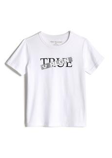 True Religion BOYS TAPED LOGO TEE