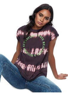 True Religion TIE DYE ELEVATION TEE