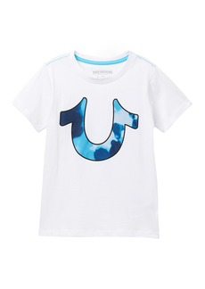 True Religion Tie Dye Horse Shoe T-Shirt (Toddler & Little Boys)