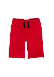 True Religion Toddler's, Little Boy's & Boy's Embossed French Terry Cotton Shorts
