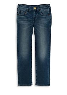 True Religion Toddler's, Little Boy's & Boy's Geno Single End Fade Jeans