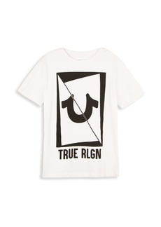 True Religion Toddler's, Little Boy's & Boy's Long Sliced Cotton Tee