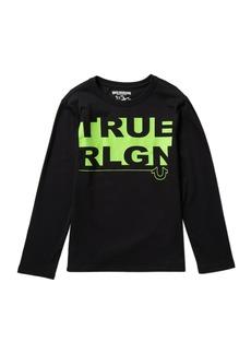True Religion TR Block Long Sleeve Tee (Big Boys)