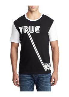 True Religion TR CONTRAST SLEEVE TEE