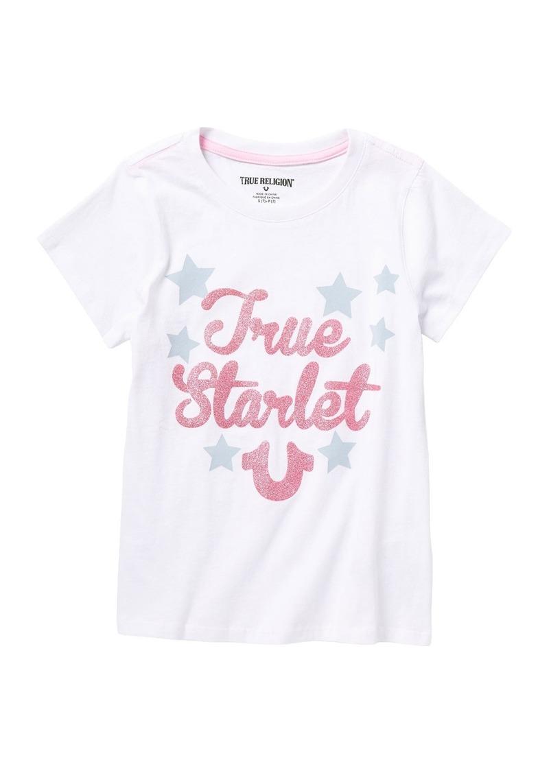True Religion TR Girly Stars T-Shirt (Big Girls)