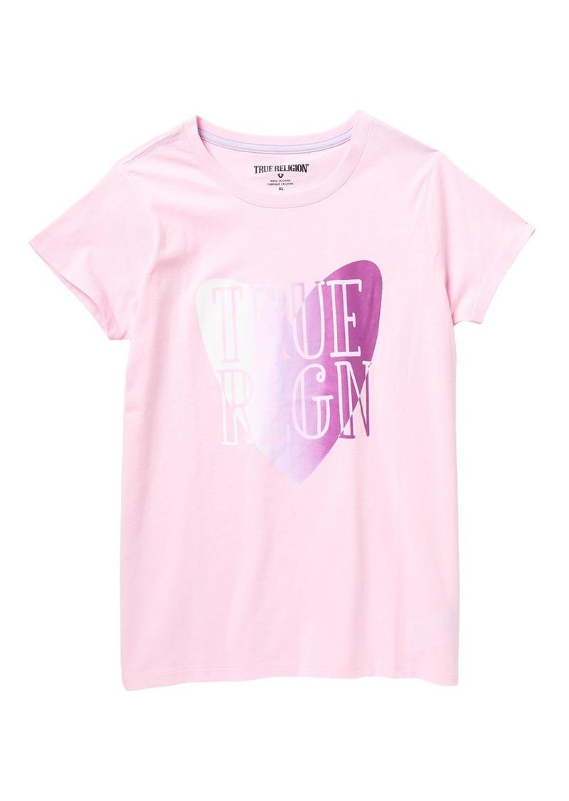 True Religion True Heart T-Shirt (Big Girls)