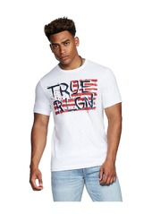 True Religion TRUE PAINTED FLAG TEE