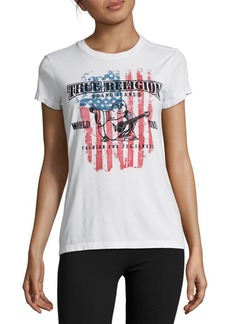True Religion American Flag Tee