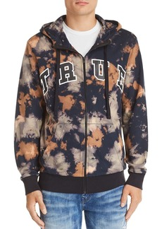 True Religion Arched Logo Tie-Dyed Hoodie