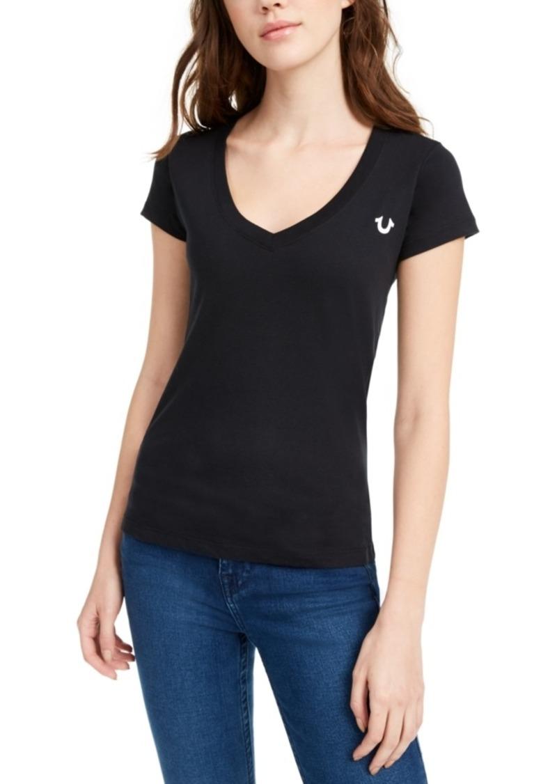True Religion Basic Buddha Cotton Graphic T-Shirt