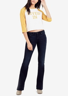 True Religion Becca Mid-Rise Bootcut Jeans
