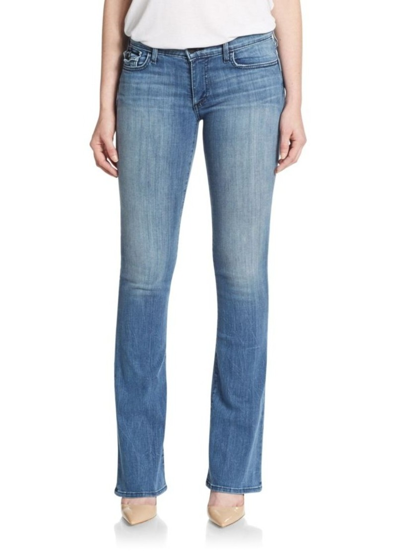 True Religion Becca Mid-Rise Flared Jeans
