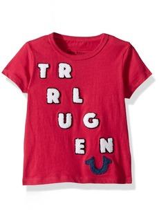 True Religion Girls' Big Chenille TEE  L