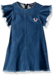 True Religion Big Girls' Flutter Dress  M
