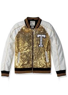 True Religion Girls' Big Sequin Jacket  S