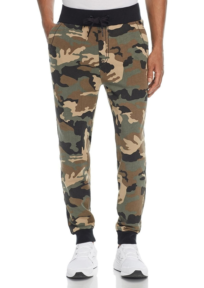 True Religion Big T Camouflage-Print Sweatpants