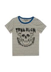 True Religion Boys' Broken Stripe Skull Tee - Big Kid