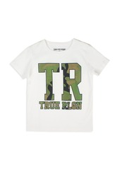 True Religion Boys' Camo Logo Tee - Big Kid