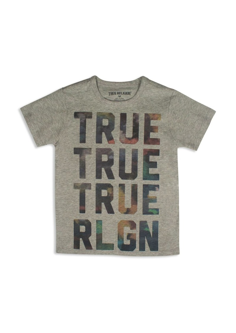 True Religion Boys' Colorful Clouds Brand Tee - Sizes S-XL